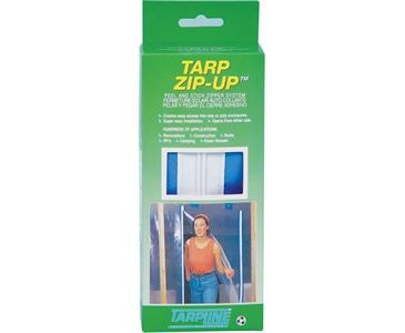 Tarp Zipper Door